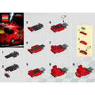 LEGO Scuderia Ferrari Truck Set 30191 Instructions