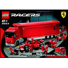 LEGO Scuderia Ferrari Truck Set 8654 Instructions