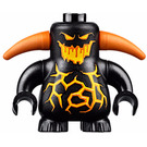 LEGO Scurrier - Black Minifigure