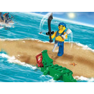 LEGO Scurvy Dog and Crocodile Set 7080