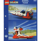 LEGO Sea Jet Set 5521 Instructions