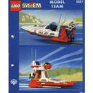 LEGO Sea Jet Set 5521 Instructions