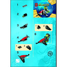 LEGO Sea Jet Set 8072 Instructions