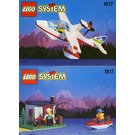 LEGO Sea Plane with Hut and Boat Set 1817