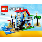 LEGO Seaside House Set 7346 Instructions
