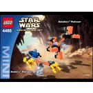 LEGO Sebulba's Podracer & Anakin's Podracer Set 4485 Instructions