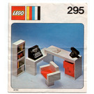 LEGO Secretary's desk Set 295 Instructions