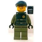 LEGO Security Guard with Stickers Minifigure