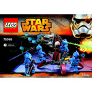 LEGO Senate Commando Troopers Set 75088 Instructions