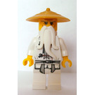 LEGO Sensei Wu Minifigure with Pearl Gold Hat