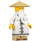 LEGO Sensei Wu with White Robe and Sandals Minifigure