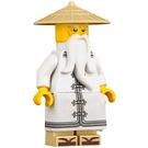 LEGO Sensei Wu with White Robe and Sandals Figurine