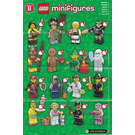 LEGO Series 11 Minifigure - Random Bag Set 71002-0 Instructions