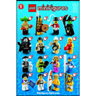 LEGO Series 2 Minifigure - Random Bag Set 8684-0 Instructions