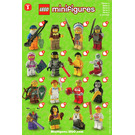 LEGO Series 3 Minifigure - Random Bag Set 8803-0 Instructions