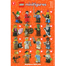 LEGO Series 4 Minifigure - Random Bag Set 8804-0 Instructions