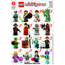 LEGO Series 6 Minifigure - Random Bag Set 8827-0 Instructions
