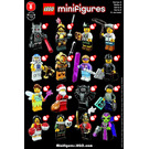 LEGO Series 8 Minifigure - Random Bag Set 8833-0 Instructions