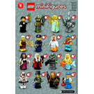 LEGO Series 9 Minifigure - Random Bag Set 71000-0 Instructions