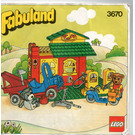 LEGO Service Station Set 3670 Instructions