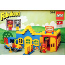 LEGO Service Station with Billy Goat and Mike Monkey Set 344-2
