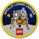 LEGO Sew-On Patch - Apollo Lunar Lander (5005907)