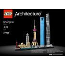 LEGO Shanghai Set 21039 Instructions
