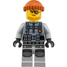 LEGO Shark Army Thug Minifigure with Large Knee Armor