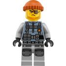LEGO Shark Army Thug Minifigure with Large Knee Armor