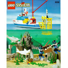 LEGO Shark Cage Cove Set 6558 Instructions