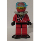 LEGO Shark Diver, Red Outfit Minifigure