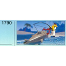 LEGO Shark Fisherman Set 1790