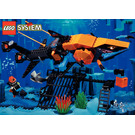 LEGO Shark's Crystal Cave Set 6190 Instructions