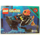 LEGO Shark Scout Set 6115 Instructions