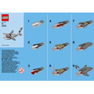 LEGO Shark Set 40136 Instructions