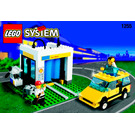 LEGO Shell Car Wash Set 1255-1 Instructions