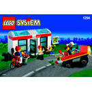 LEGO Shell Convenience Store Set 1254-1 Instructions