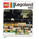 LEGO Shell Garage Set 690 Instructions
