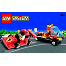 LEGO Shell Race Car Transporter Set 1253-1 Instructions