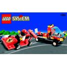 LEGO Shell Race Car Transporter Set 1253 Instructions