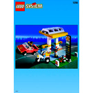 LEGO Shell Service Station Set 1256-1 Instructions