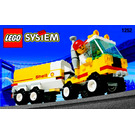 LEGO Shell Tanker Set 1252-1 Instructions