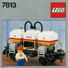 LEGO Shell Tanker Wagon Set 7813