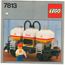 LEGO Shell Tanker Wagon Set 7813 Instructions
