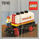 LEGO Shell Tanker Wagon Set 7816