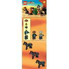 LEGO Sheriff's Showdown Set 6712 Instructions
