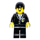 LEGO Sheriff with Black Hair and Moustache Minifigure