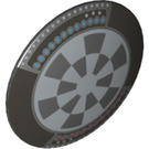 LEGO Shield Round and Rounded Front with Dart Board 'Dejarik Hologame Board' (23957 / 75902)