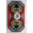 LEGO Shield with Bear Head Decoration (48494)
