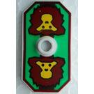LEGO Shield with Monkey Head Decoration (48494)